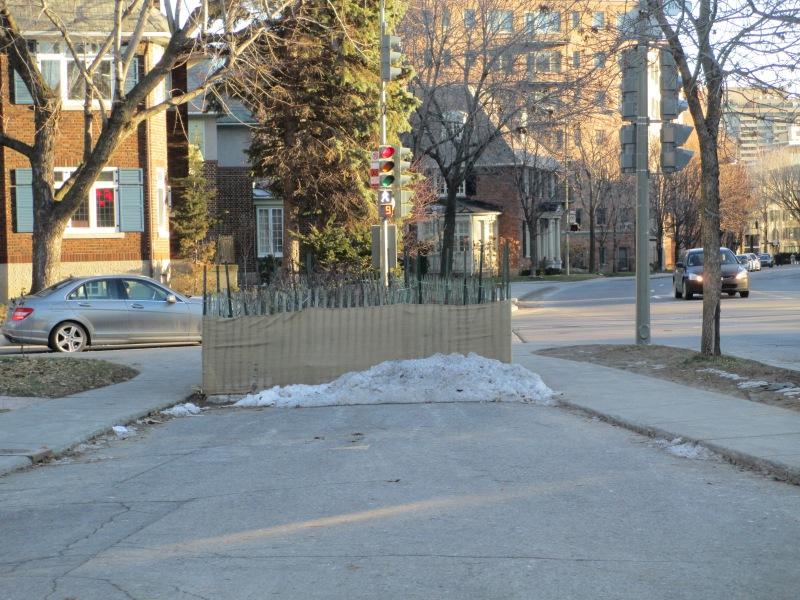 Sherbrooke Street West at Cote St.  Antoine